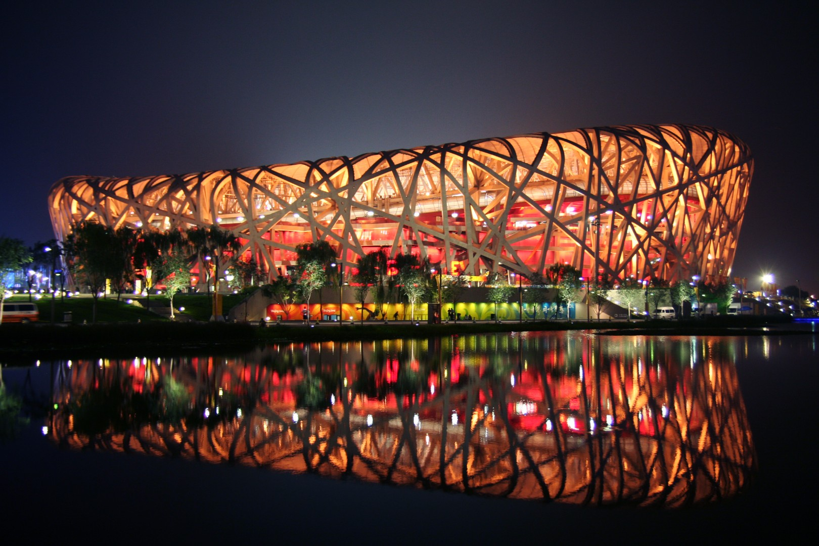 Стадион «Птичье гнездо» (Bird'sNest). Beijing, China.